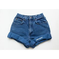 All Sizes Vintage High Waisted Denim Shorts Rolled Cuffed High Waisted... (195 ZAR) ❤ liked on Polyvore featuring shorts, bottoms, etsy, grey, women's clothing, high rise jean shorts, cutoff shorts, cut off shorts, high-waisted denim shorts and vintage high waisted shorts