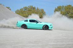 Tiffany Blue 2013 Mustang GT