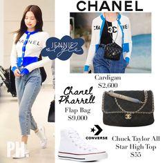 Blackpink Fashion, Kpop Fashion Outfits, Winter Fashion Outfits, Korean Outfits, Korean Fashion, Fashion Brands, Womens Fashion, Lit Outfits, Outfits With Converse