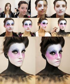 https://www.facebook.com/FirefelyMUA La contessa #makeuptutorial #makeup #halloweeen #mua #firefelymua