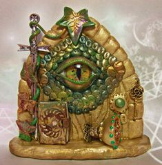 Check out this item in my Etsy shop https://www.etsy.com/uk/listing/451232370/dragon-eye-fairy-door-fd610