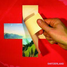 Swiss tourism poster