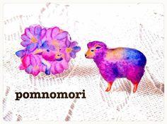 お花に囲まれた子羊(左)が大人になりました(右)ピアスとイヤリングからお選びいただけます。手描きの水彩イラストを加工しレジンでコーティングしております。直径約...|ハンドメイド、手作り、手仕事品の通販・販売・購入ならCreema。