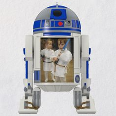 Star Wars™ R2-D2™ The Force Is With Us Photo Frame Ornament - Keepsake Ornaments - Hallmark $17.99