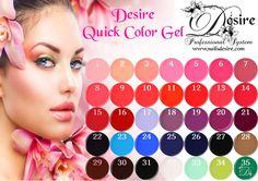 Quick Color Gel One Step senza strato dispersivo.