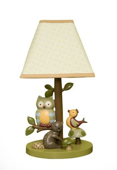 Lambs & Ivy Enchanted Forest Lamp with Shade ❤