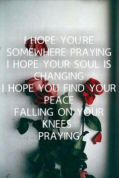 Kesha- Praying lyrics