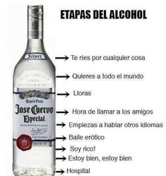 Alcohol Humor, Funny Alcohol, Funny Spanish Memes, Spanish Humor, Fun In Spanish, Spanish Lessons, Funny Images, Funny Photos, Party Fiesta