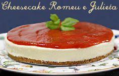 Eu amei essa cheesecake que não vai ao forno! Ficou deliciosa!!! Tão boa quanto a versão assada que você pode acessar clicando aqui, e o melhor: é bem mais fácil de fazer!Essa receita é bem pequen…