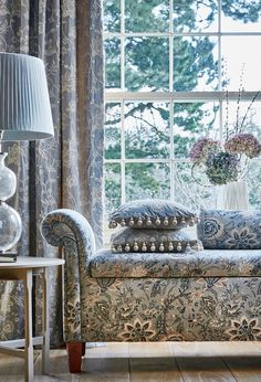 Prestigious Textiles, Stunning Wallpapers, Modern Prints, Wingback Chair, Traditional Design, Upholstery, Interior Design, Country Living, Furniture