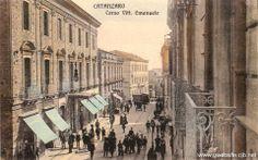 Corso Vittorio Emanuele. Catanzaro.