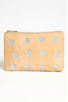 Metallic Dot Cosmetic Pouch available at Handbags Michael Kors, Louis Vuitton Handbags, Cosmetic Pouch, Cheap Fashion, Womens Fashion, Small Bags, You Bag, Coin Purse, Fashion Accessories