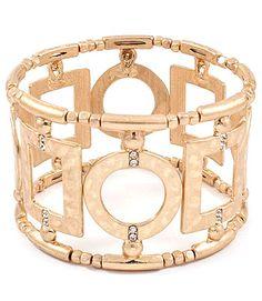 $3.55 - Golden Bracelet - #WHOLESALE #JEWELRY - Wholesalerz.com