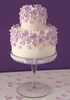Cake Haute Couture® Mini cake of the logo Cakes Haute Couture - Pasteles de Alta Costura®