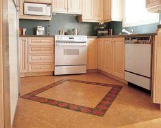 Cork Flooring: Private Residence