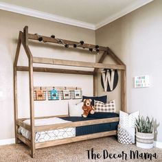 New cool kids room for girls house beds ideas House Beds For Kids, Toddler House Bed, Diy Toddler Bed, Toddler Beds For Boys, Girls Twin Bed, Kids Beds Diy, Twin Size Toddler Bed, Kids Diy, Toddler Bed Frame