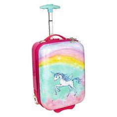 "8ab571c4e9 Βαλίτσα Trolley με φωτάκια LED ""Unicorn Paradise"""