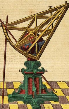 Tycho brahe's sextant-astronomical instrument.
