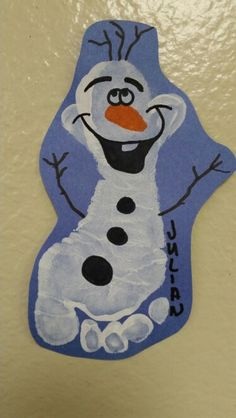 Footprint Olaf!