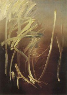 Ohne Titel (Abend) Gerhard Richter - Untitled (Evening) 1971 110 cm x 80 cm Catalogue Raisonné: 293-3 Oil on canvas