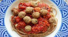 Spaguetti con albóndigas de pollo - IMujer