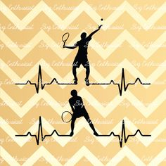 Tennis Heartbeat SVG, Tennis  EKG Svg, Tennis Players Svg, Tennis Love Svg, Cricut, Dxf, Png, Cut File, Clip Art, Vector by SVGEnthusiast on Etsy