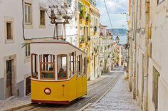 【ポルトガル】リスボン  高低の差が激しく観光にはトラムやケーブルカーを使いこなせると効率よく回れます。