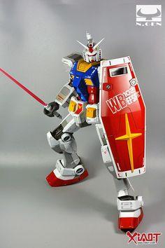 GUNDAM GUY: Mega Size 1/48 RX-78-2 Gundam - Painted Build
