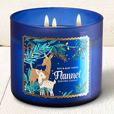 Flannel 3-Wick Candle - Home Fragrance 1037181 - Bath & Body Works
