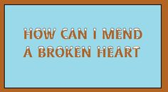 BrokenHeartOne