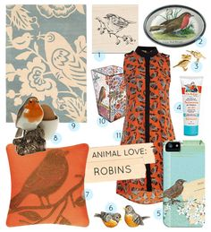 Animal Love: Robins!