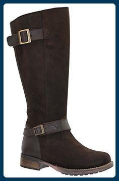 e403ff3b873 JJ Footwear Damen Stiefel Suede Galena XXL Espresso Croste Vintage Floater  44 - Stiefel für frauen ( Partner-Link)