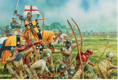 Longbowman vs Crossbowman HUNDRED YEARS' WAR 1337–60 COMBAT 24