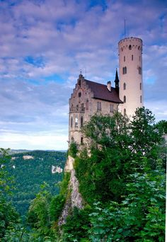LIchtenstein Castle (Swabian Alps) South Germany - about 30 miles from my home! :)