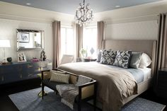 Bedroom Decor….Interior Therapy with Jeff Lewis Photos | Before and After: Stewart and Samantha