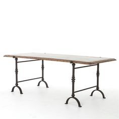 The Foundry Dining Table, The Khazana Home Austin Furniture Store