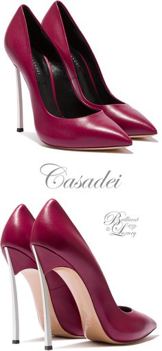Brilliant Luxury by Emmy DE ♦Casadei 'Blade' FW 2016