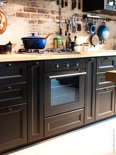 Rustikt med METOD, love the stove/oven