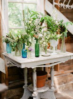 #wildflowers  Photography: Lexia Frank Photography - www.lexiafrank.com  Read More: http://www.stylemepretty.com/2014/08/12/charming-springtime-garden-wedding/