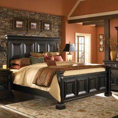 Pulaski Brookfield Mansion Panel Bed - HOMM883