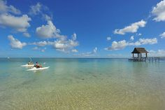 Watersports at Trou aux Biches Mauritius
