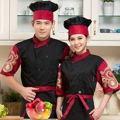 New Design Unisex Chef Jackets women men Chinese restaurant uniforms hotel staff new design short sleeve hotel uniform Chinese Restaurant, Western Restaurant, Hotel Uniform, Restaurant Uniforms, Suits For Women, Clothes For Women, Hotel Food, Asian Restaurants, Food Trailer