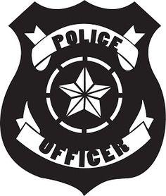 Police Badge Free Cut-file