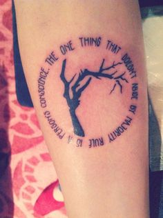"""""""The one thing that doesn't abide by majority rule is a person's conscience"""" - To Kill a Mockingbird"""