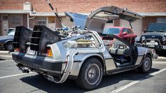 Back to the Future Delorean Time Machine Conversion