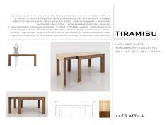 6-12 fős nagyobbítható tömörfa étkező asztal