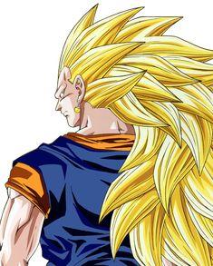 Resultado de imagen para vegetto ssj3 Dbz, Goku, Ssj3, Sasuke, Dragon Ball Z, Wattpad, Anime, Fictional Characters, Google