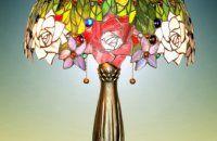 lampa růže