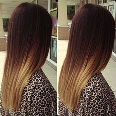ombre hair - maybe as my blonde grows out...