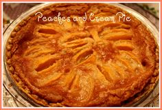 Sweet Tea and Cornbread: Ten Southern Pies for the Holidays! Köstliche Desserts, Delicious Desserts, Dessert Recipes, Pastries Recipes, Yummy Food, Peach Pie Recipes, Sweet Recipes, Cornbread Recipes, Fall Recipes
